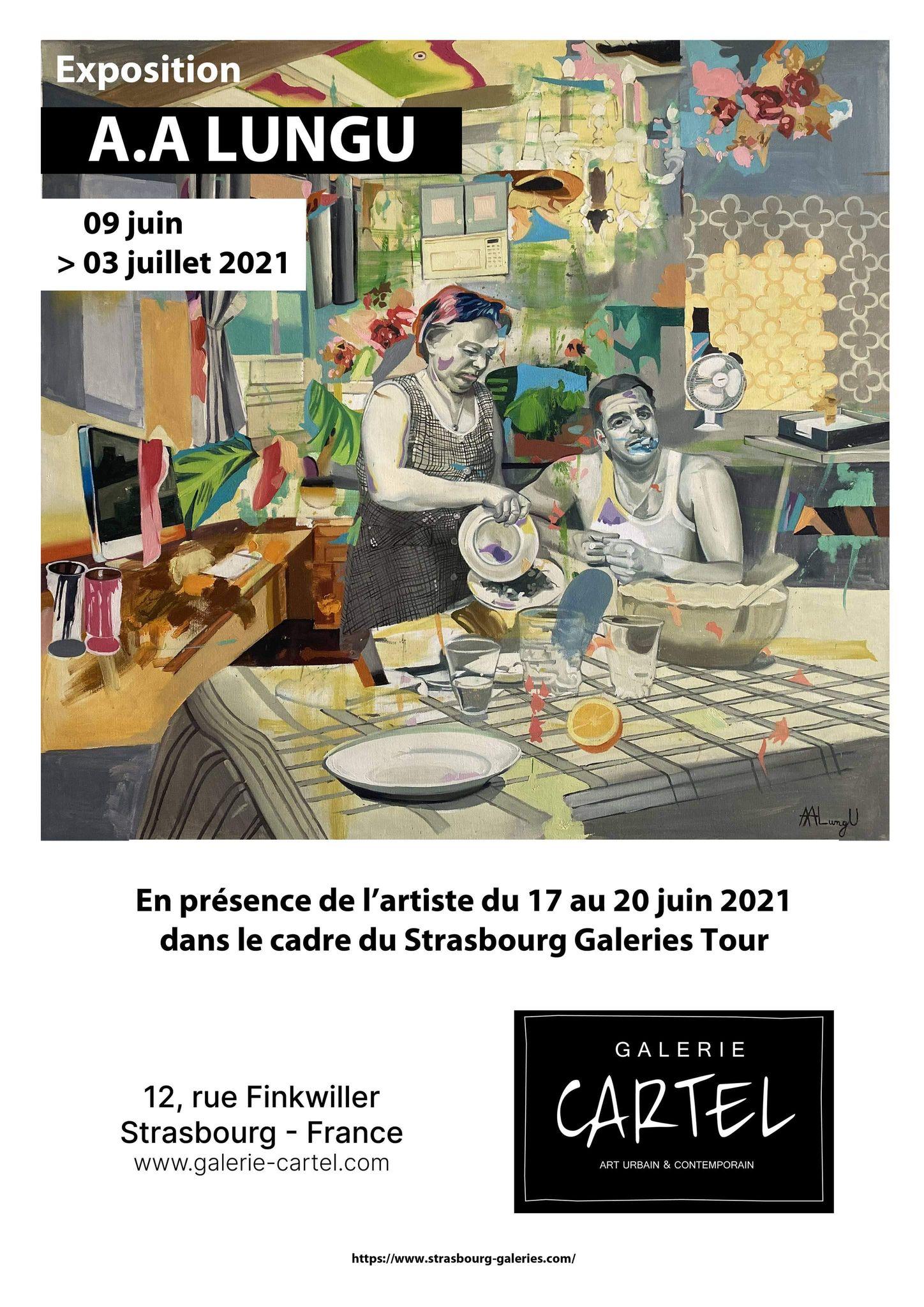 Exibition at Cartel Gallery Strasbourg